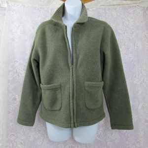 GH Bass & Co Malden Mills Polarfleece Full Zip S